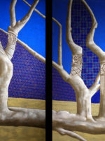 Diptyque arbres de Saint Jacut de la mer